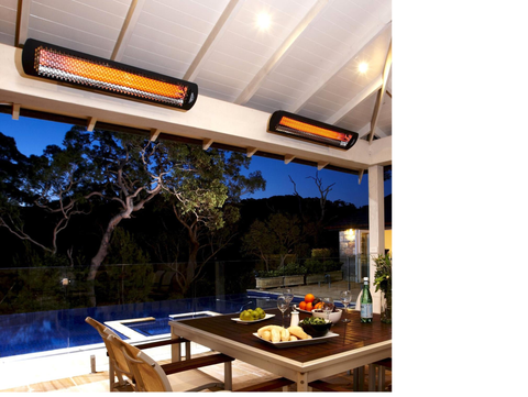 Image of Bromic Heating Tungsten Electric Smart-Heat Infrared Patio Heater - Fireplace Choice