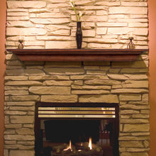 Pearl Mantels Homestead 418 Mantel Shelf - Antique Birch Finish - Fireplace Choice