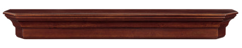 Image of Pearl Mantels 490 Lindon Mantel Shelf - Cherry Distressed - Fireplace Choice