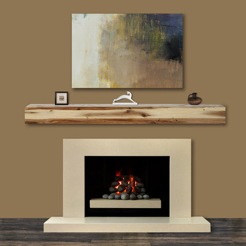 Pearl Mantels 492 Acacia Mantel Shelf - Fireplace Choice