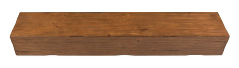 Pearl Mantels 496 Lexington Wooden Fireplace Mantel Shelf - Fireplace Choice