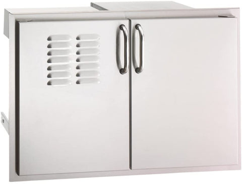 "Image of Fire Magic Select 30""Double Access Door With Drawers And Propane Tank Storage (33930S-12T) - Fireplace Choice"