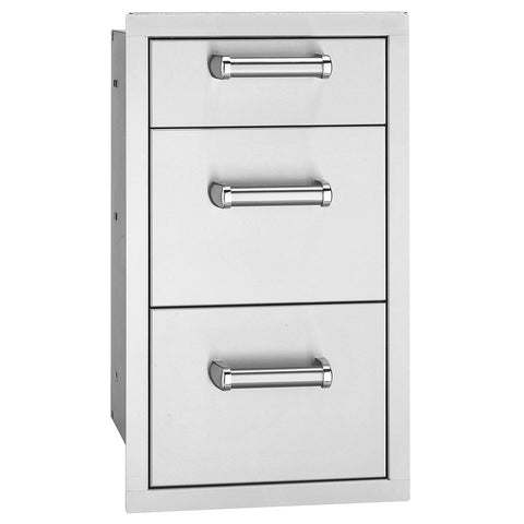 Image of Fire Magic Premium Flush Triple Drawers For Aurora and Echelon Grills - 53803SC - Fireplace Choice