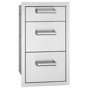 Fire Magic Premium Flush Triple Drawers For Aurora and Echelon Grills - 53803SC - Fireplace Choice