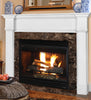 Pearl Mantels 550 Richmond MDF Fireplace Mantel - White - Fireplace Choice