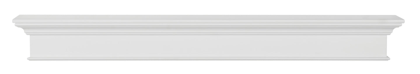 Pearl Mantels 610 Henry MDF Multipurpose Mantel Shelf