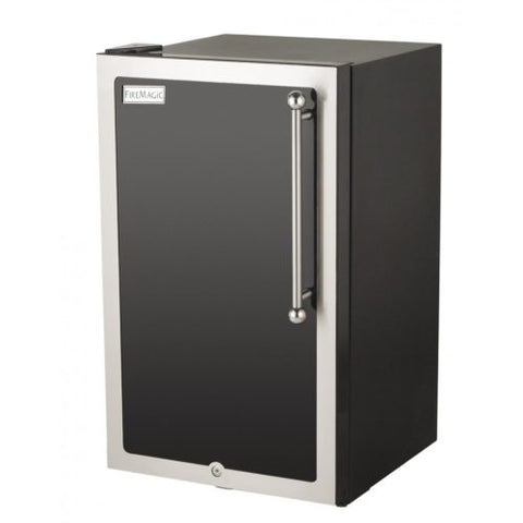 Image of Fire Magic Echelon Black Diamond Compact Refrigerator - 4 cu.ft.  - 3598H-DL/R - Fireplace Choice
