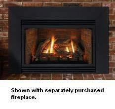 Empire 3-Sided Metal Surround for Fireplace Insert - DS20763BL - Fireplace Choice