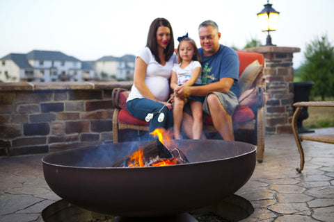 Ohio Flame Patriot Wood Burning Fire Pit - Fireplace Choice