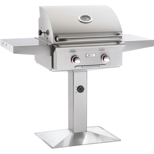"American Outdoor Grill 24"" Patio Post ""T"" Series Gas Grill - Fireplace Choice"