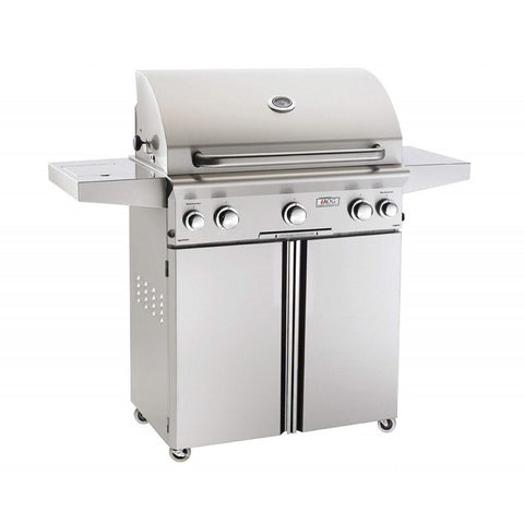 American Outdoor Grill L-Series 30-Inch 3-Burner Freestanding Gas Grill - Fireplace Choice