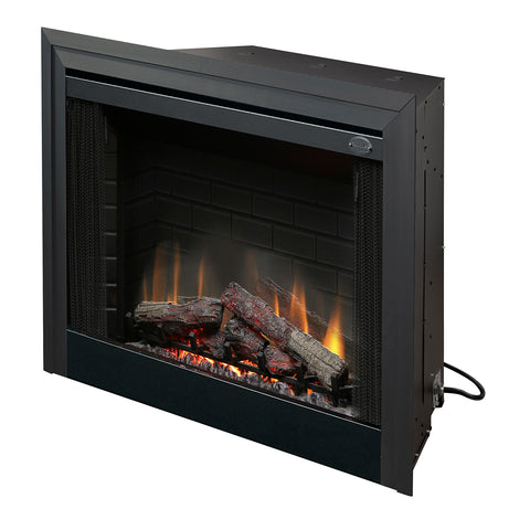"Image of Dimplex 39"" Purifire Deluxe Built-in Electric Firebox With Logs - BF39DXP - Fireplace Choice"