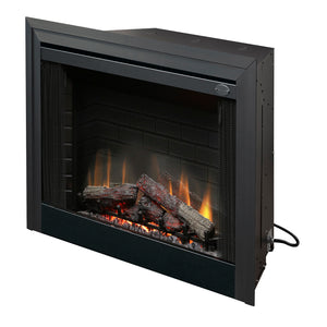 "Dimplex 39"" Purifire Deluxe Built-in Electric Firebox With Logs - BF39DXP - Fireplace Choice"