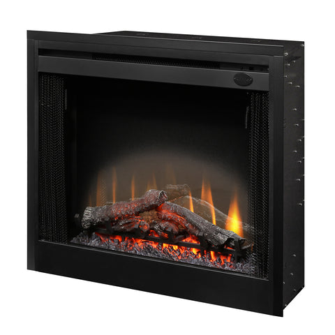 "Image of Dimplex 33"" Slim Line Built-in Electric Firebox - BFSL33 - Fireplace Choice"