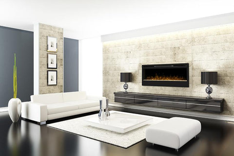 "Image of Dimplex Synergy 50"" Linear Electric Fireplace - BLF50 - Fireplace Choice"