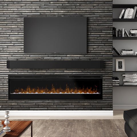 "Image of Dimplex Prism 74"" Linear Electric Fireplace - BLF7451 - Fireplace Choice"