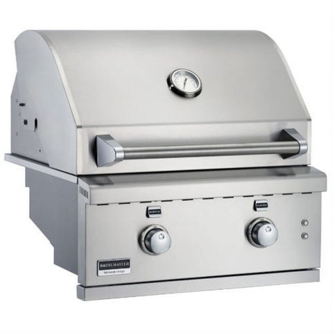 Image of Broilmaster 26-Inch Built-In Gas Grills - Fireplace Choice