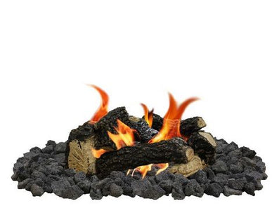 Firegear Beach Fire 8-Piece Fire Pit Log Set (Logs Only) - (L-BF) - Fireplace Choice