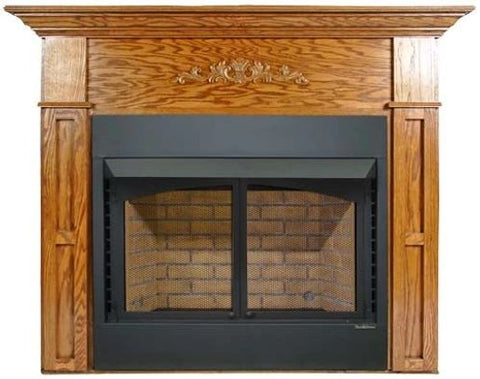 Buck Stove Flush Mount Mantel - For 36ZCBB Builder Series - Fireplace Choice