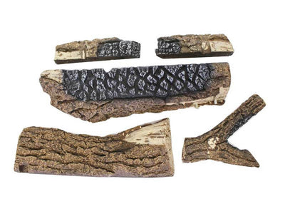 Ceramic Designer Log Set for Buck CR18 - PO-CR18MVLOG - Fireplace Choice