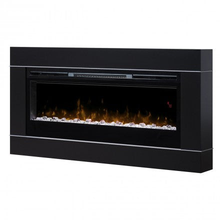 Image of Dimplex Cohesion Black Wall Fireplace Surround - DT1267BLK - Fireplace Choice
