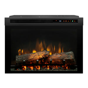"Dimplex 26"" Plug-in Electric Firebox with Realogs - DF26L-PRO - Fireplace Choice"