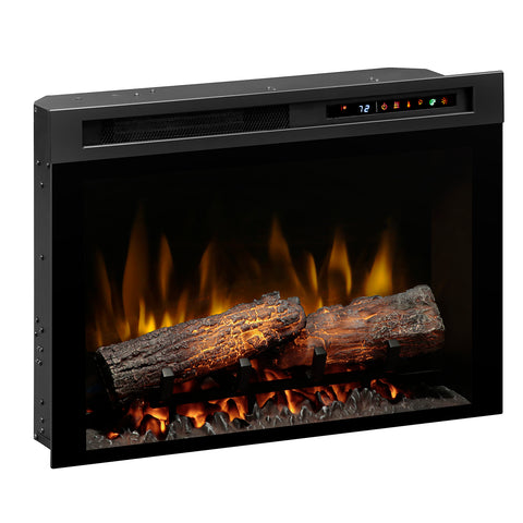 "Image of Dimplex 26"" Plug-in Electric Firebox with Realogs - DF26L-PRO - Fireplace Choice"