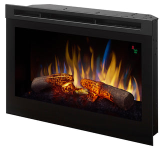 "Dimplex 25"" Plug In Electric Firebox with Glow Logs - DFR2551L - Fireplace Choice"