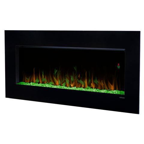 "Dimplex Nicole 43"" Wall Mount Electric Fireplace - DWF3651B - Fireplace Choice"