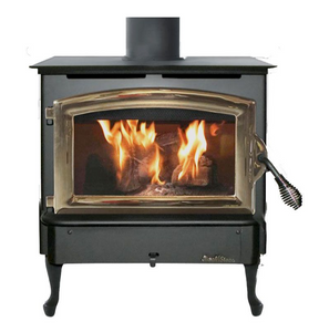 Buck Stove Model 21 Non-Catalytic Wood Stove Gold Door - FP 21P - Fireplace Choice