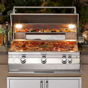 "Fire Magic Aurora 30"" Built-In Gas Grill With Analog Thermometer - A660I-7EA - Fireplace Choice"