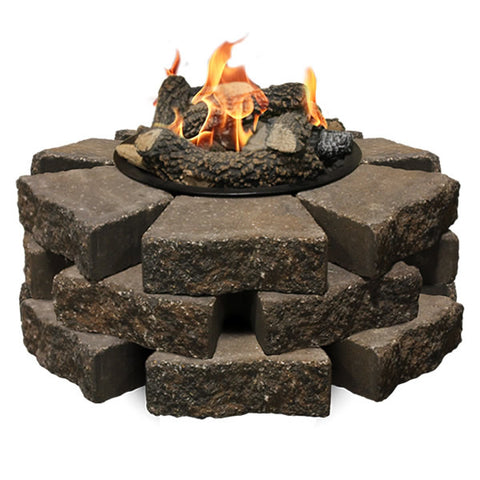Image of Firegear Beach Fire 8-Piece Fire Pit Log Set (Logs Only) - (L-BF) - Fireplace Choice