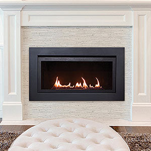 Image of Sierra Flame Langley Deluxe 36 Linear Direct Vent Gas Fireplace - Fireplace Choice
