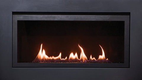 Sierra Flame Direct Vent Linear Gas Fireplace Langley 36 - Liquid Propane - Fireplace Choice