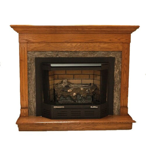 Image of Buck Stove Model 329 Vent-Free Natural Gas Stove - Millivolt Remote Ready - NV C329B4EBNAT - Fireplace Choice