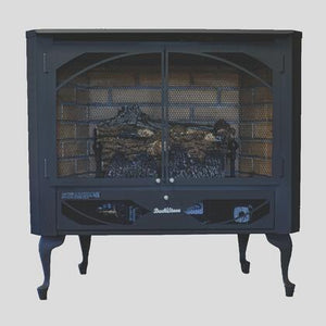 Buck Stove Model 384 Vent-Free Gas Stove - NG (NV 3844NAT-DOORS) - Fireplace Choice