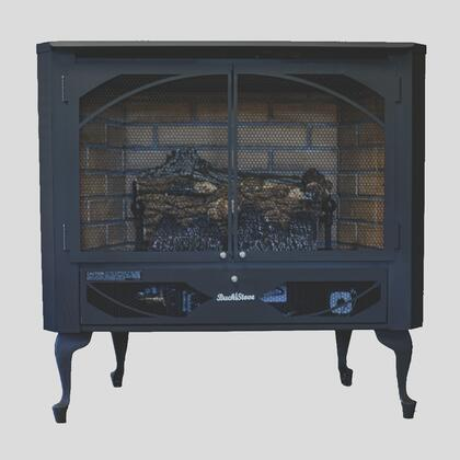 Buck Stove Model 384 Vent-Free Propane Gas Stove - NV 3844LP-DOORS - Fireplace Choice