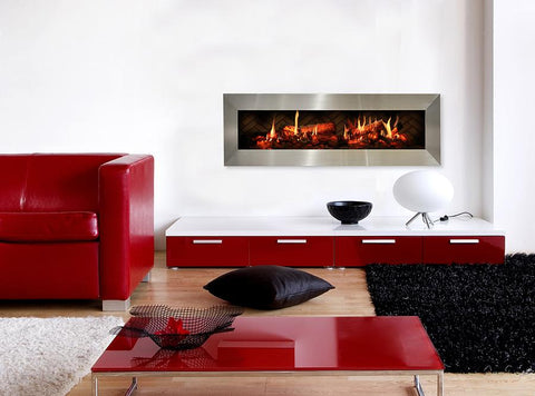 Image of Dimplex Opti-V™ Duet Built-In Electric Fireplace - VF5452L - Fireplace Choice