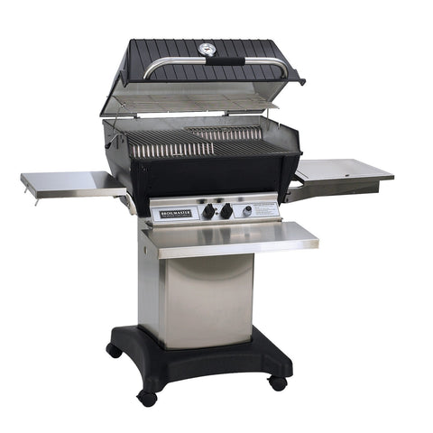 Image of Broilmaster 27-Inch Super Premium Built In Natural Gas Grill On Cart - P3SXN - Fireplace Choice