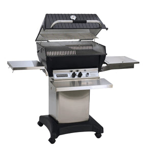 Broilmaster 27-Inch Super Premium Built In Natural Gas Grill On Cart - P3SXN - Fireplace Choice