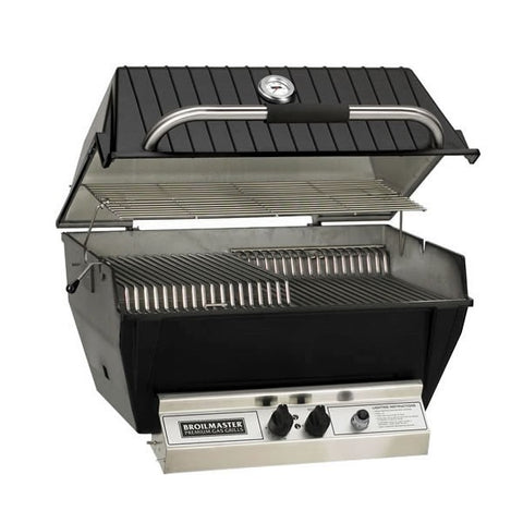 Image of Broilmaster 27-Inch Premium Built-In Natural Gas Grill - P3XFN - Fireplace Choice