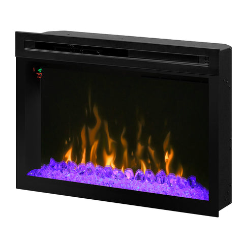 "Image of Dimplex 33"" Multi-Fire XD Electric Firebox with Acrylic Ice Embers -  PF3033HG - Fireplace Choice"