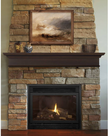Image of Pearl Mantels 610 Henry MDF Multipurpose Mantel Shelf - Fireplace Choice