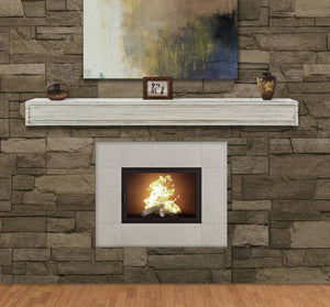 Pearl Mantels 612 Sarah Multipurpose MDF Mantel Shelf - Fireplace Choice