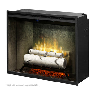 "Dimplex Revillusion® 30"" Built-in Electric Firebox in Weathered Concrete Liner - Fireplace Choice"