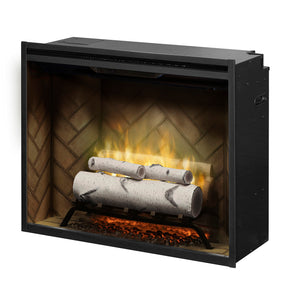 "Dimplex 30"" Revillusion Accessory Log Kit - Birch (RBFL30BR) - Fireplace Choice"