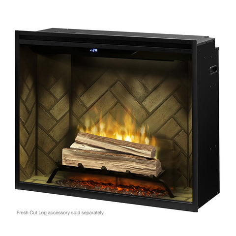 "Image of Dimplex 36"" Revillusion Portrait Built-In Electric Firebox - RBF36P - Fireplace Choice"
