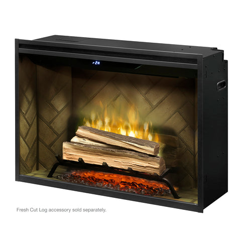 "Dimplex 36"" Revillusion Built-In Electric Firebox - RBF36 - Fireplace Choice"