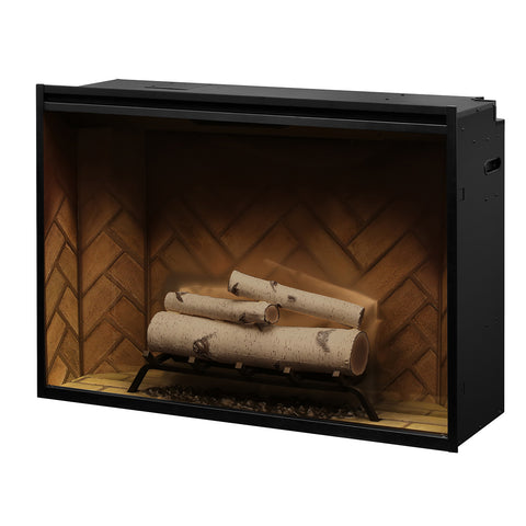 Dimplex Birch Log Set Accessory for Revillusion 36 & 42-in Firebox - RBFL42BR - Fireplace Choice