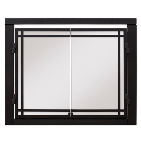 "Dimplex 42"" Revillusion Double Glass Door - RBFDOOR42 - Fireplace Choice"